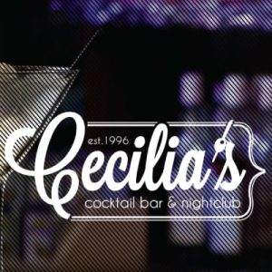 New Website for Cecilia's Cocktail and Martini Bar