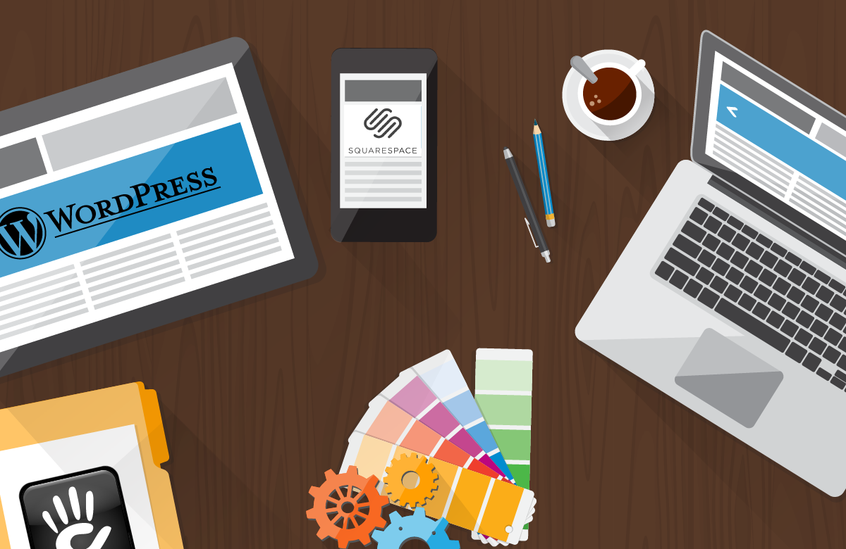 WordPress, Concrete5, SquareSpace: which is best for your business?